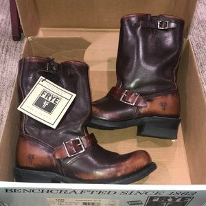 BRAND NEW FRYE LEATHER BOOTS